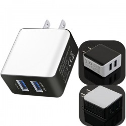 2 Port Charger AC to USB