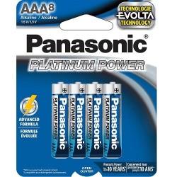 AAA X 8 Alkaline Panasonic...