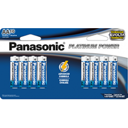 AA X 16 Alkaline Panasonic...