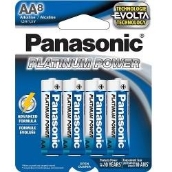 AA X 8 Alkaline Panasonic...